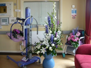 Hospital-flower-display